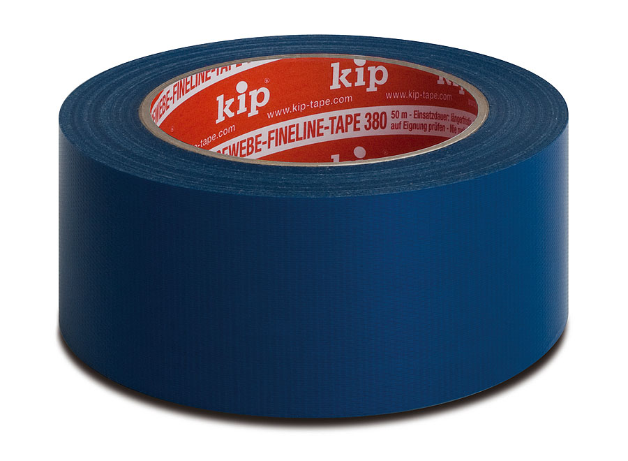 KIP 380 Gewebeband FineLine-Tape für scharfe Kanten, 50 m