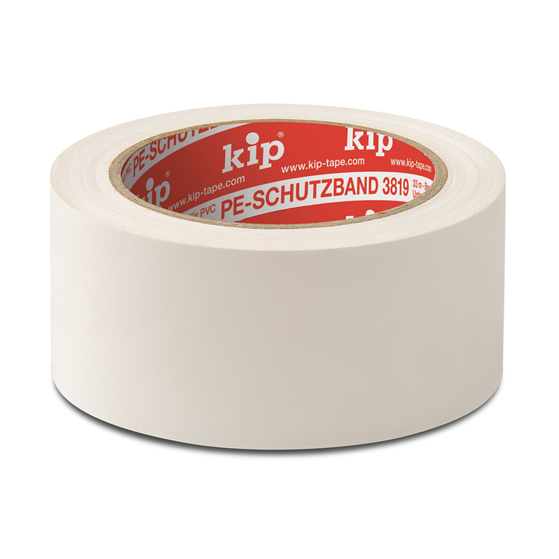 KIP 3819 PE-Schutzband, weiß, 50 mm, 33 m