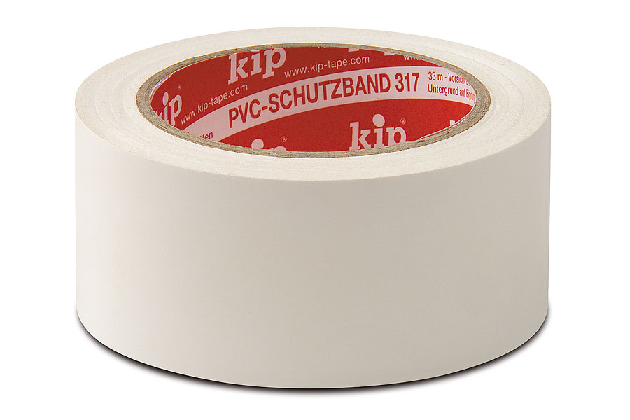 KIP 317 PVC-Schutzband, glatt, 50 mm, 33 m