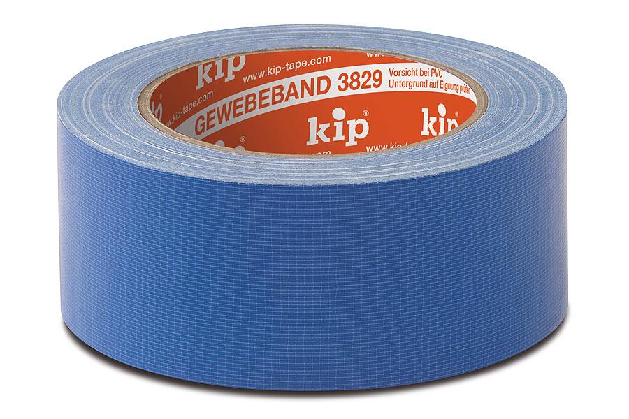KIP 3829  Gewebeband, 25 m, verschiedene Breiten