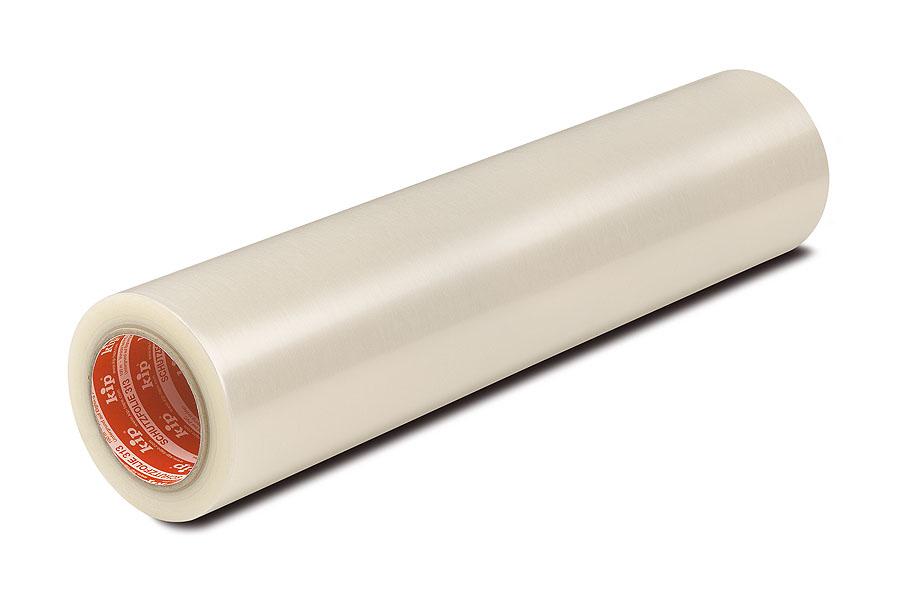 KIP 513-11 Schutzfolie, selbstklebend, transparent, Karton (mit 6 Rollen), 500 mm, 100 m