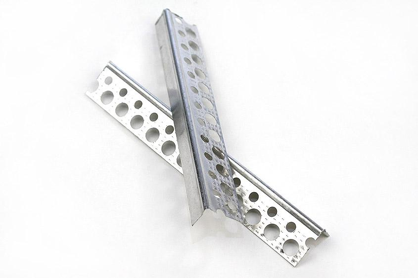 5001 Abschlussprofil,Trockenbau, Innen, Aluminium, Putzstärke: 1 mm