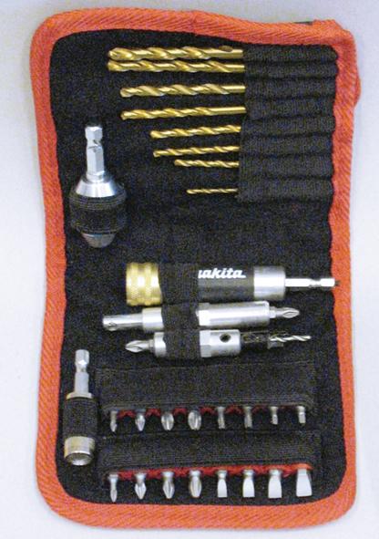 Makita Bit-Set 29-teilig + Bohrer, P-46523