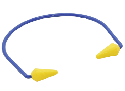 Bügelgehörschutz Caboflex, spitze Form