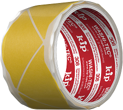 KIP 308 Fineline-Ecken WASHI-TEC, gelb (60 Ecken pro Rolle)