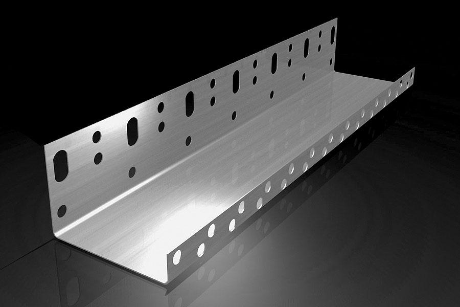 Sockelprofil für WDVS aus Aluminium 250 cm