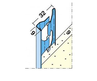 Protektor Putzabschlussprofil Innen 1211, 260 cm