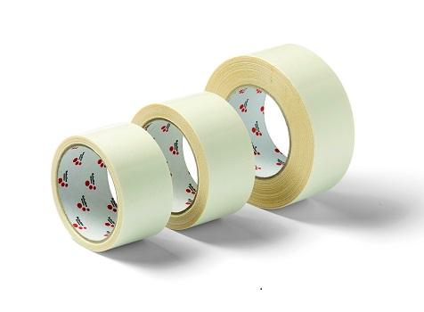 Klebeband doppelseitig, Twin Tape Cotton, 50 mm, verschiedene Längen