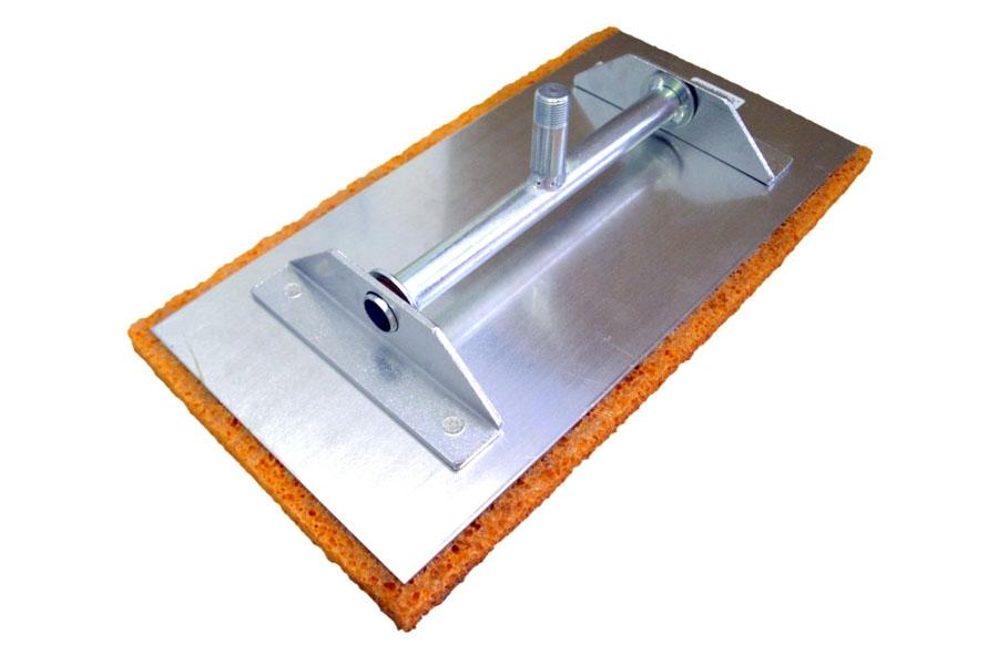 Egalisette / Egaline mit Holzstiel und Kippgelenk, 400x200x18 mm