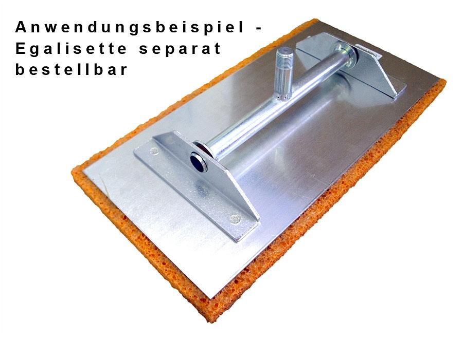 Schwammgummibelag für Egalisette 400x200x20 mm - verschiedene Ausführungen