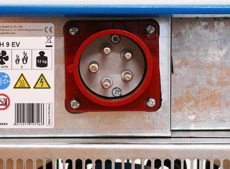 Elektroheizlüfter GH 9 EV