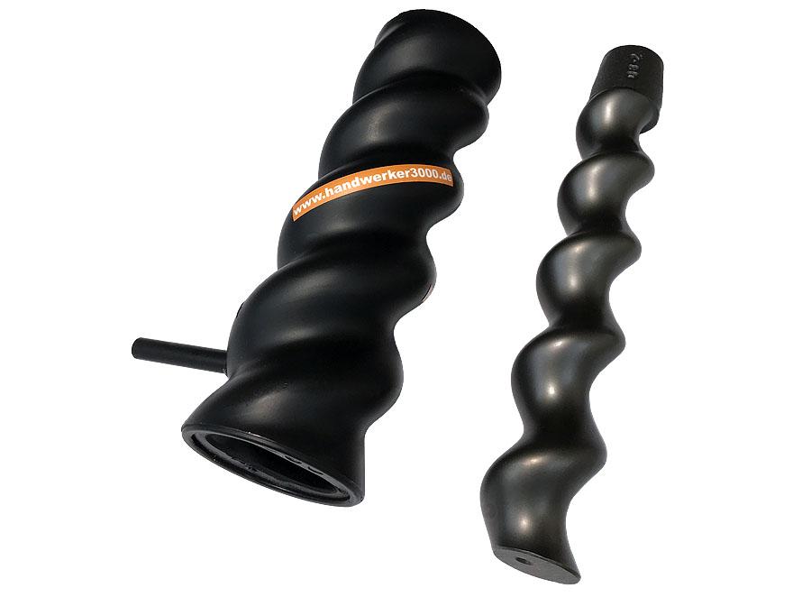 >stockbig® Mantel & Schnecke D8-2 E8-G Turbo, schwarz