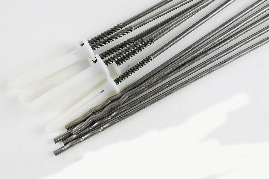Dübelanker 4,0x350 Welle V4A mit Nylondübel, Schalenabstand max. 220 mm
