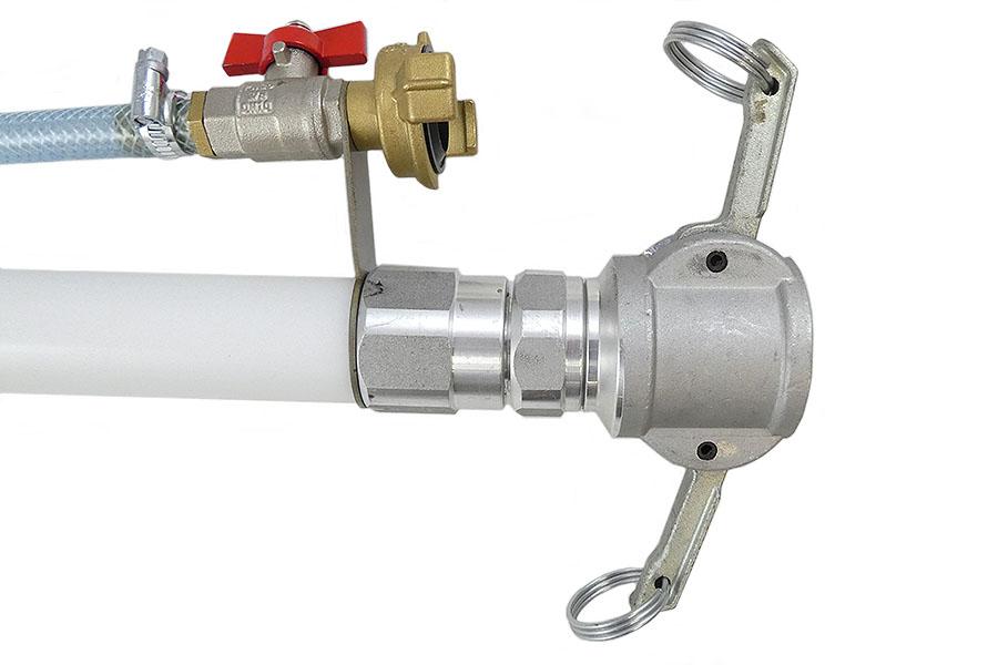 Feinputzgerät komplett mit Feinputzdüse LW 24
