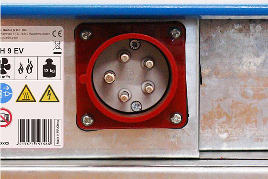 Elektroheizlüfter GH 15 EV