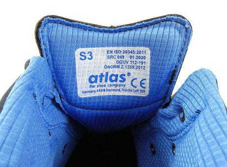 Atlas Anatomic Bau 500 Sicherheitsstiefel S3