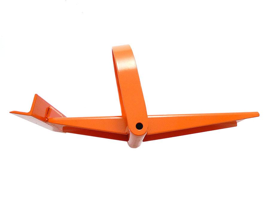 Plattenheber (Fuss) orange