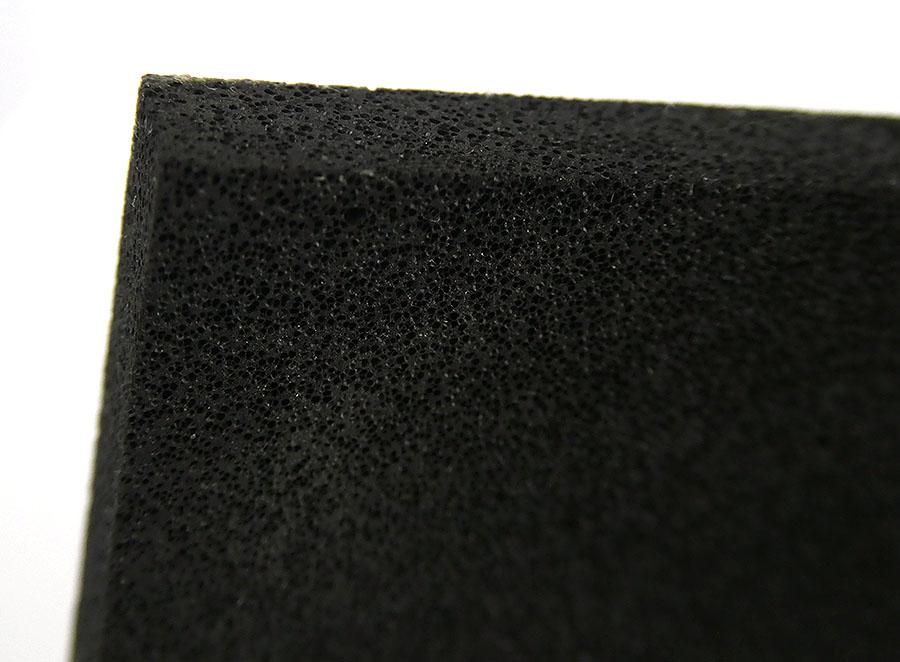 Alu-Reibebrett mit Zellgummi schwarz