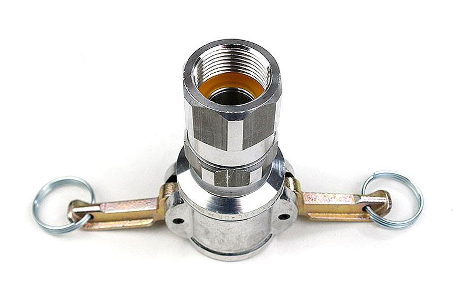 Kupplung 25 M-Teil 1 Zoll mit Innengewinde, drehbar