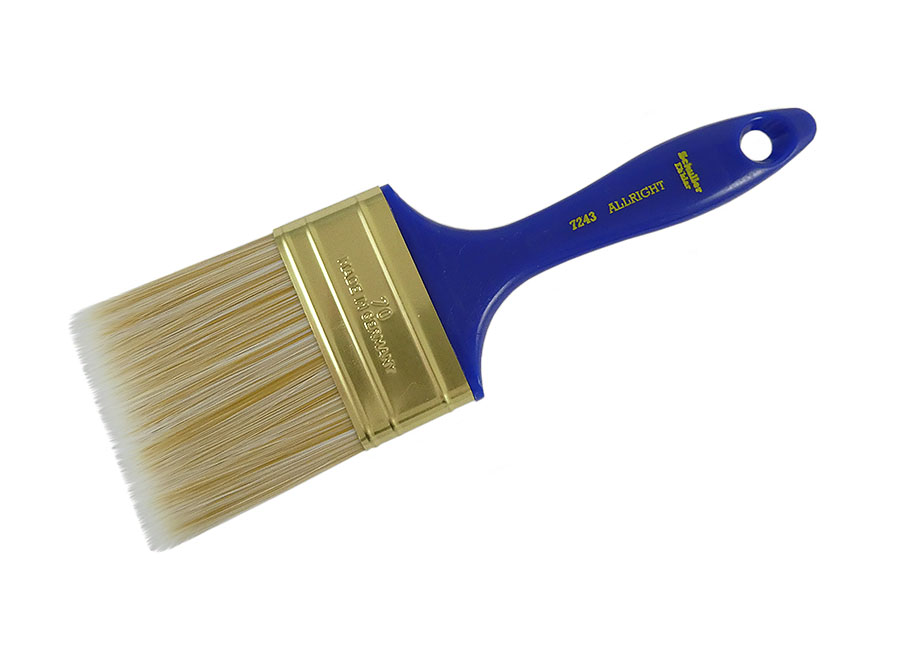 SCHULLER Flachpinsel ALLRIGHT M white/gold