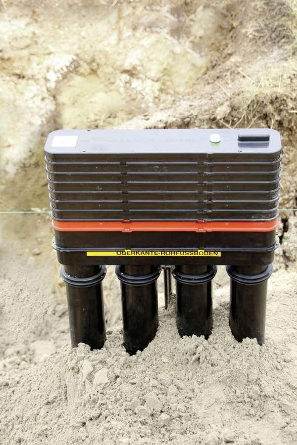 Hauff MS Gas BHP Montageset