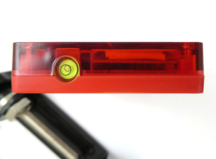 CONDTROL Laserempfänger elektronische Target rot für alle Linienlaser mit integriertem Magneten