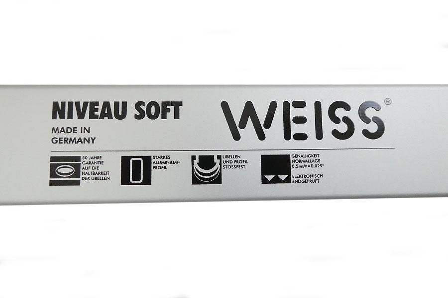 WEISS 6-teiliges Profi-Wasserwaagen-Set