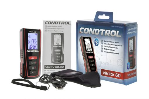 CONDTROL Vector 60 Laser-Entfernungsmesser