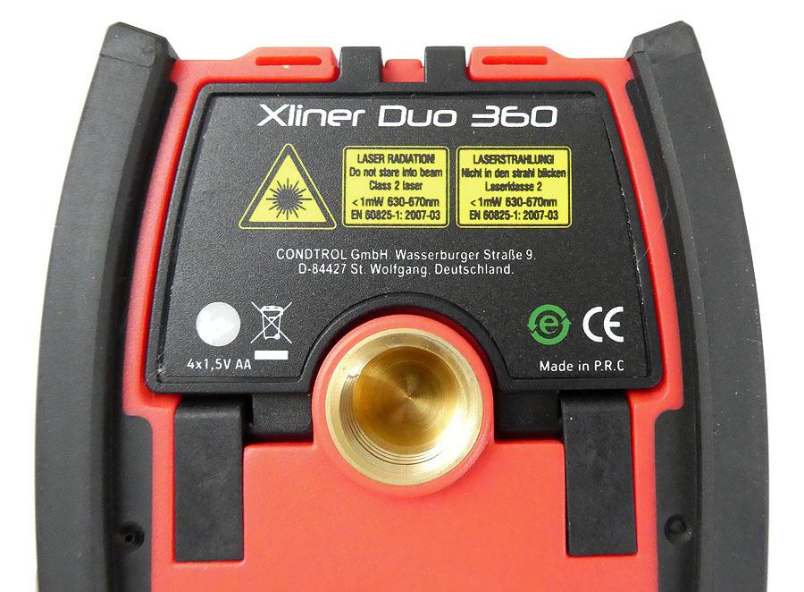 CONDTROL Kreuzlinienlaser Xliner Duo 360